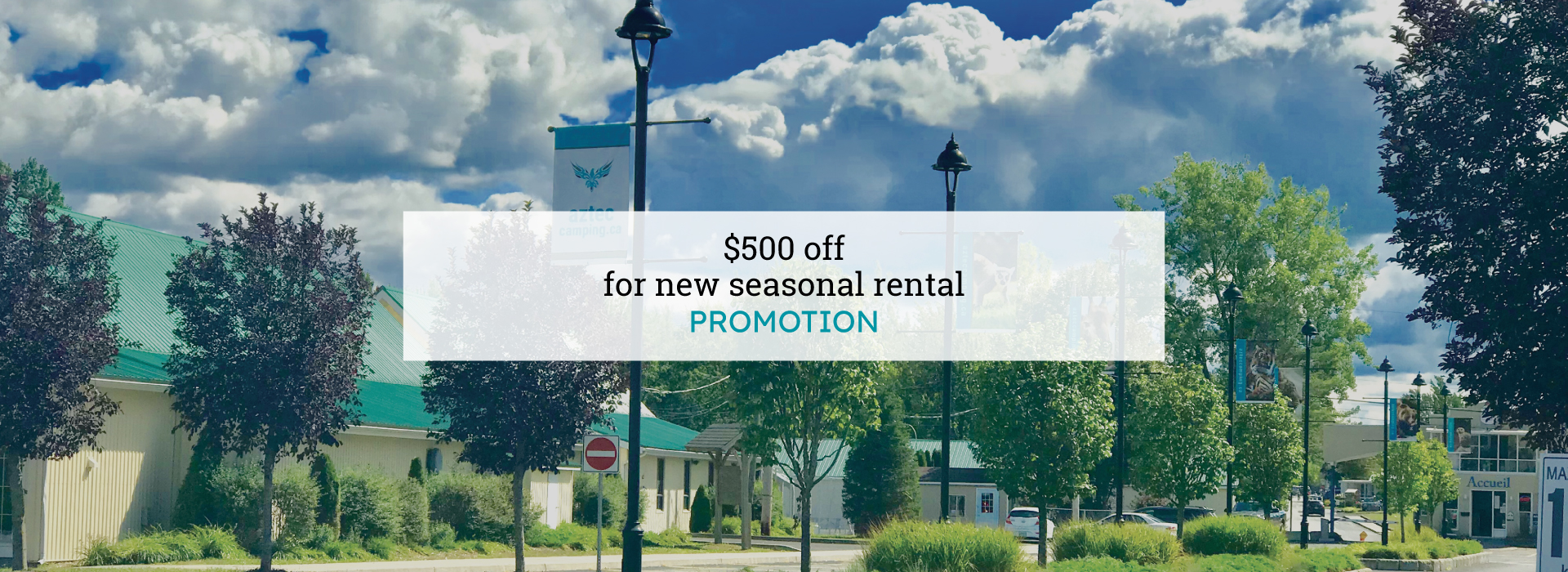 2020 New Seasonal Rental